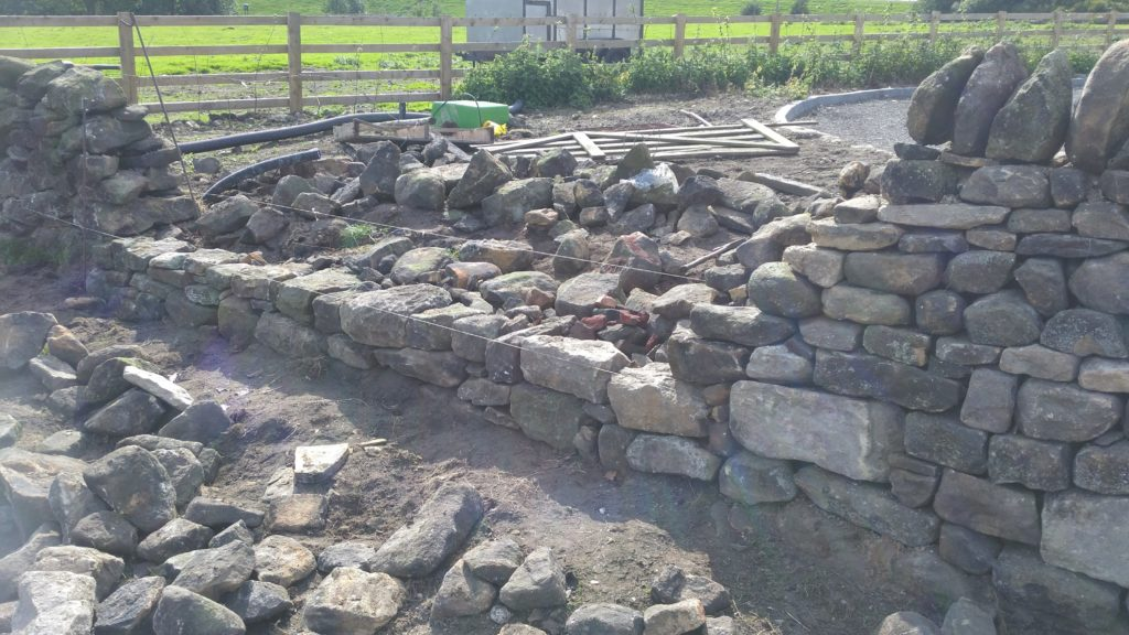 dry stone wall in Burnley