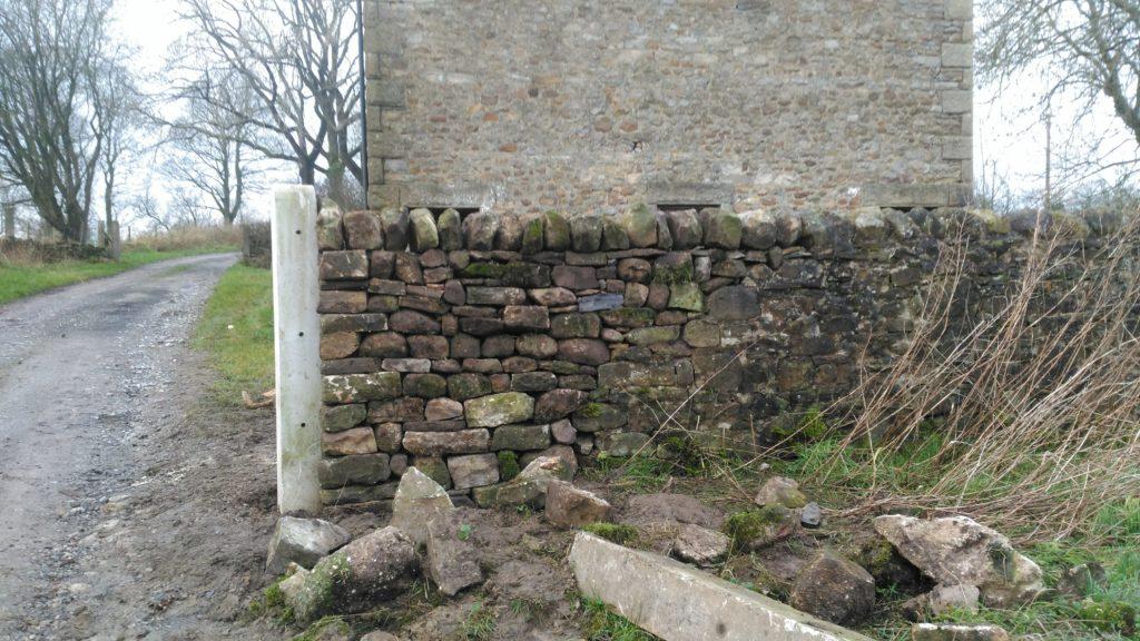 dry stone wall near Settle