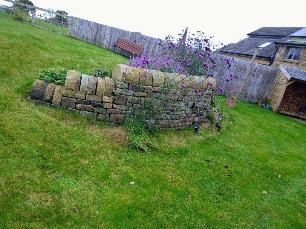 dry stone waller in Garstang, Lancashire.